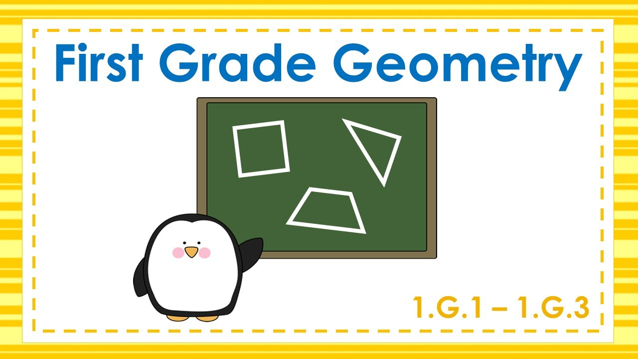 Worksheet First Grade Geometry first grade geometry youtube geometry