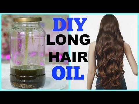 DIY: Hair Growth Oil for Long Shiny Hair | SuperPrincessjo