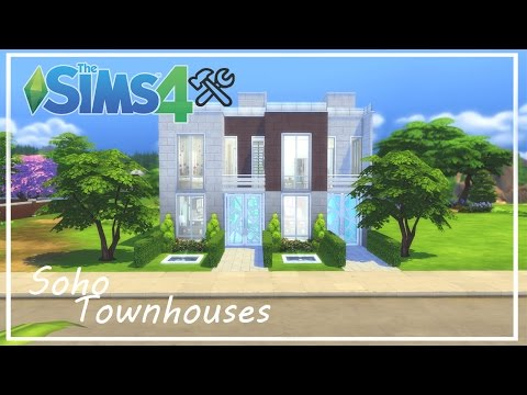 Soho Townhouses | The Sims 4 Speed Build