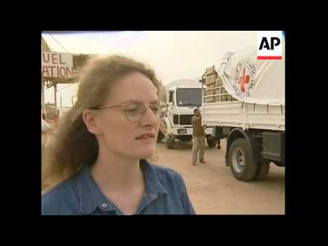ICRC aid trucks leave for Darfur plus Jesse Jackson comment