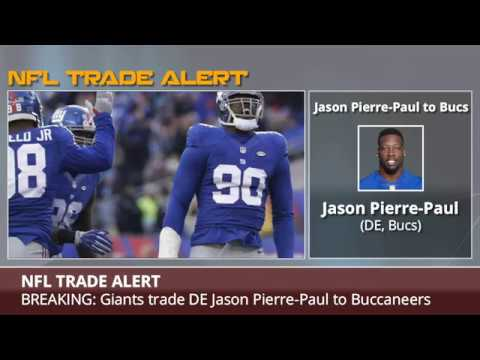 BREAKING: Giants Trade DE Jason Pierre-Paul To Buccaneers - Details And Analysis