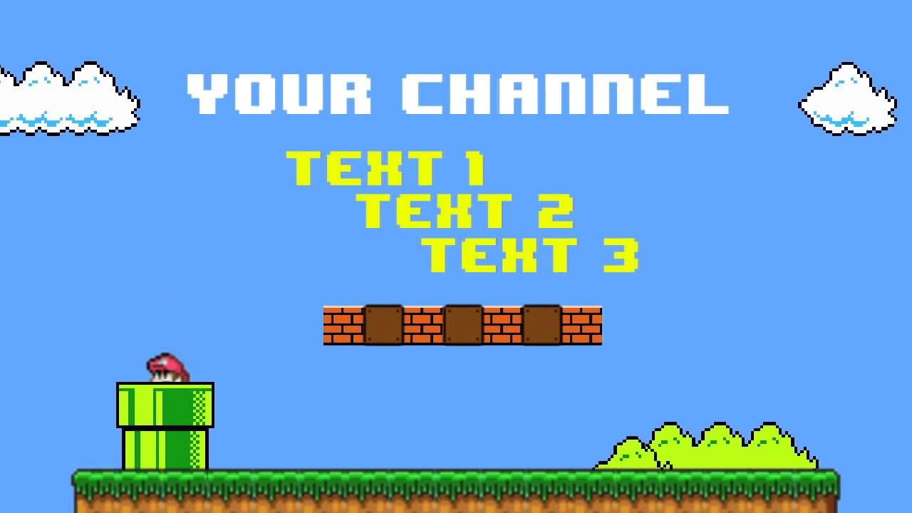Top 5 Mario Intro Templates | - YouTube