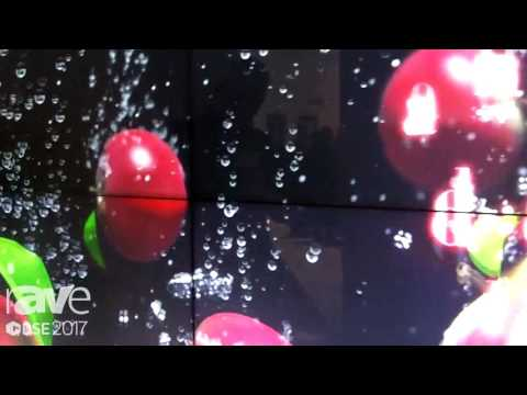 DSE 2017: LG Presents Its Clover Video Wall Product with a 0.9mm Even Bezel