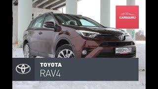 Toyota RAV4 тест-драйв.  Дизель с автоматом.