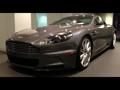Aston Martin DBS Accélération.
