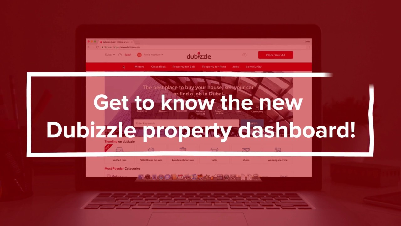 Dubizzle New Property Dashboard tutorial