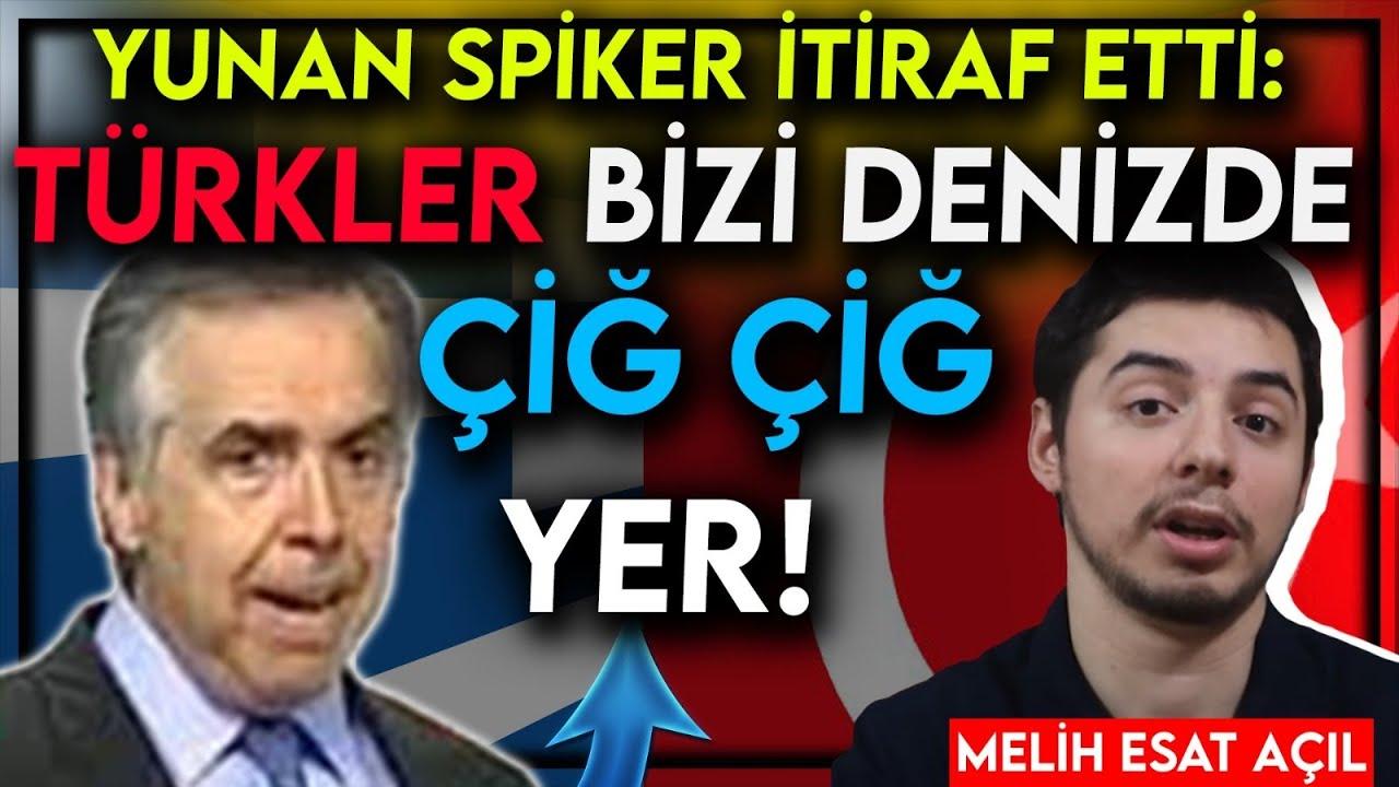 Yunan Spiker İtiraf Etti: Türkler Denizde Bizi Çiğ Çiğ Yer!