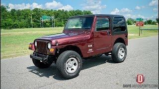Davis AutoSports 2004 Jeep Wrangler / New Inventory / Pre-Build Video