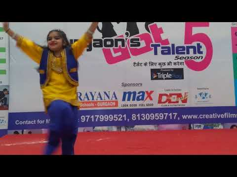 Pallo latke dance performance by CHAHAK SATIJA