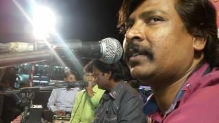 On stage dharpakad Anand shinde with Chandan Ka...
