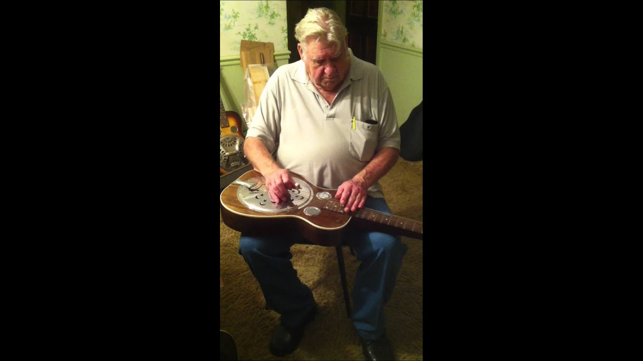 Old Timer Picks Dobro Plays Old Timey Music Youtube