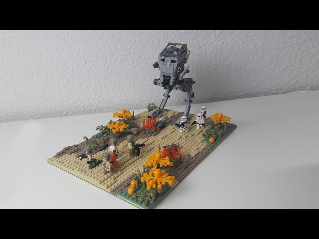 Lego Star Wars Moc: Attack of the AT-ST