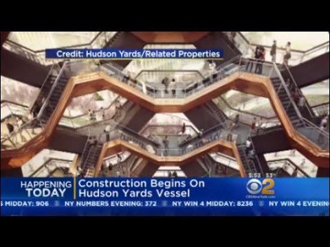 Construction Begins On Hudson Yards Vessel