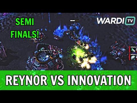 Reynor vs INnoVation - Semifinals AlphaX Code CD! (ZvT)