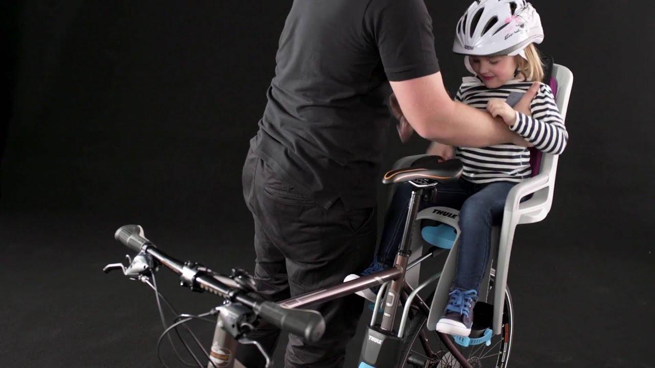 Portabebe Silleta Silla Ni–o Polisport Boodie Porta Bulto Azul Bici Bicicleta