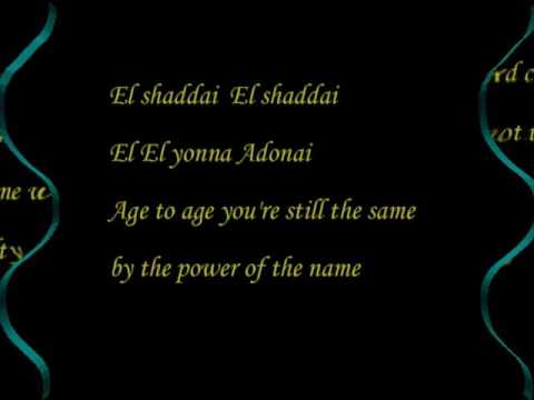 El shaddai (Lyrics) cover by suzie park