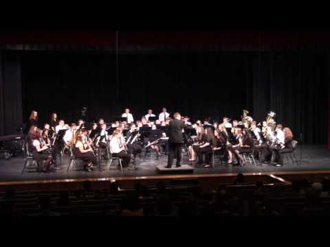 Shepherd's Hey - Percy Grainger - Maize South High School Band, Wichita, KS  3/16/2017