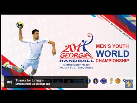 Sweden - Bahrain (Group A). IHF Men's Youth World Championship