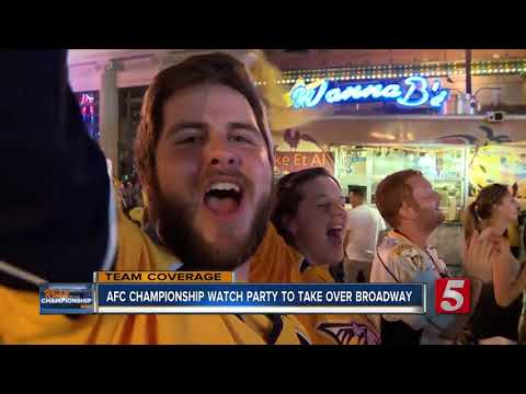 AFC Championship watch party to take over Broadway