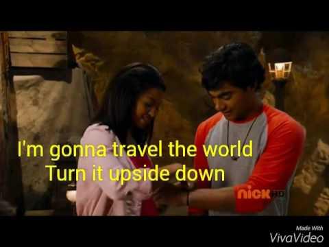 """I'm gonna travel the world"" lyrics(The N-Zed Boys)"