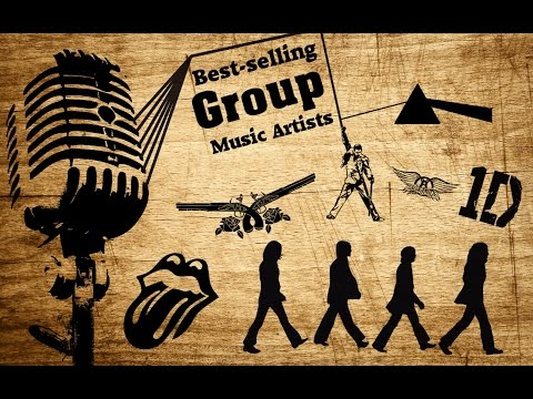 The Ultimate Best Selling Music Groups Worldwide