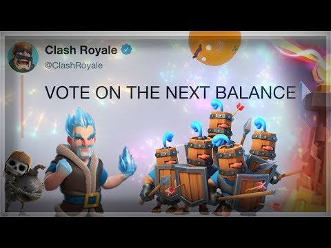 VOTE for Balances!  Ramp UpDoubleTriple Elixir Challenge Deck  Clash Royale 🍊