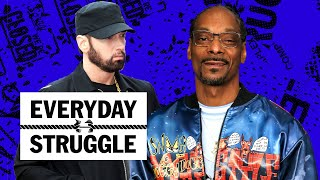 Snoop Says Eminem Isn't In His Top 10, Best Rappers Over 40? Drake Makes History | Everyday Struggle