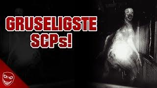 Die 10 gruseligsten und verstörendsten SCP Kreaturen!