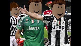 The ROBLOX-Juventus-Cagliari Giornata 1 Serie A TEAM