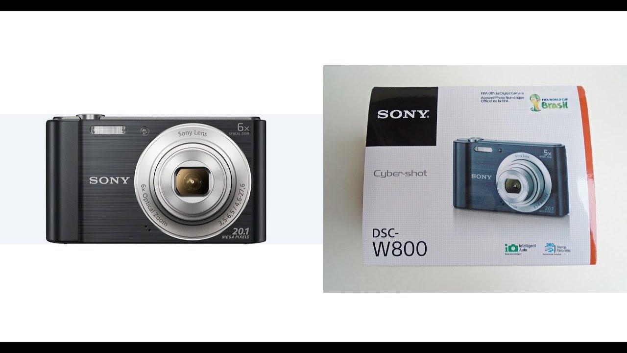 Sony Cybershot Dsc W810 Carmera Unboxing Youtube Cyber Shot
