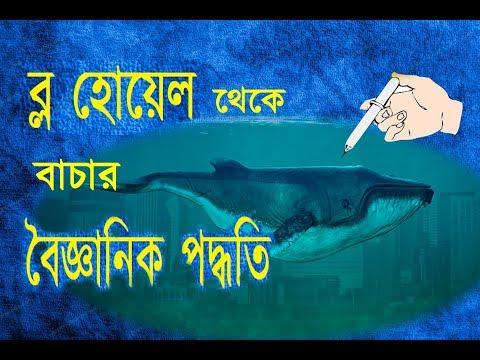 ব্ল হোয়েল game in bangla a video about the cure | blue whale game cure 2017 must watch