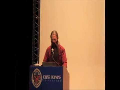Aubrey de Grey on Aging at JHU