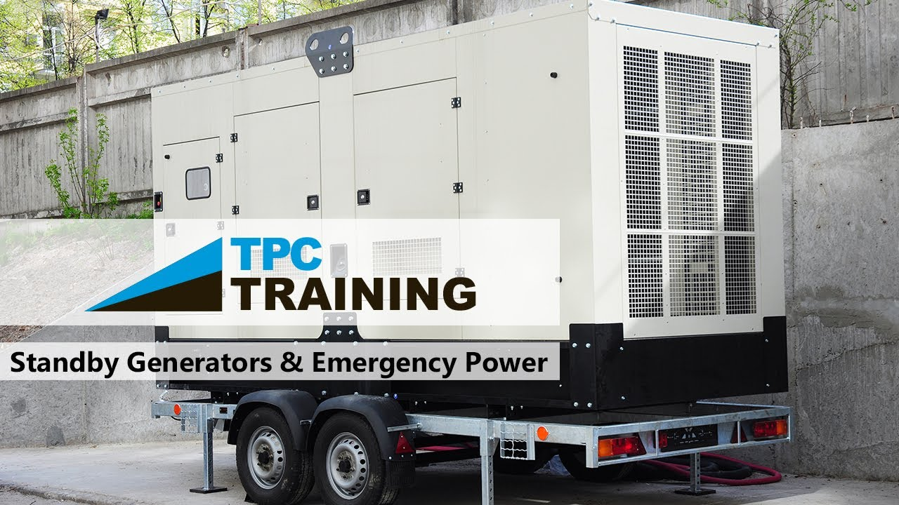 hight resolution of basics of standby generators and emergency power