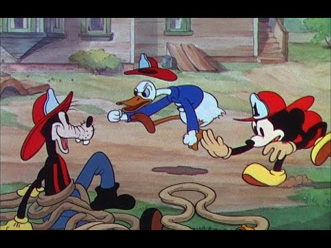 Mickey Mouse - Mickey's Fire Brigade - 1935 (HD remastered)
