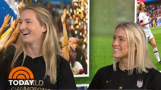 Abby Dahlkemper And Sam Mewis Chat World Cup Win | TODAY