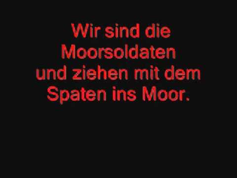 Hannes Wader-Die Moorsoldaten (Lyrics)