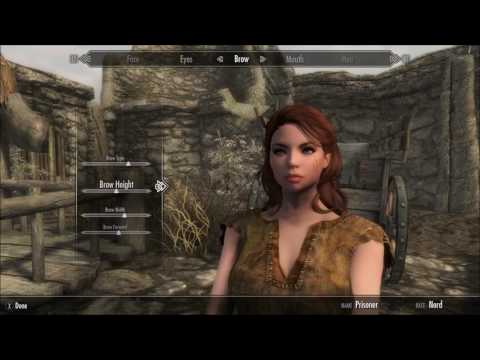 Skyrim Special Edition Female Character Creation 01 (Xbox