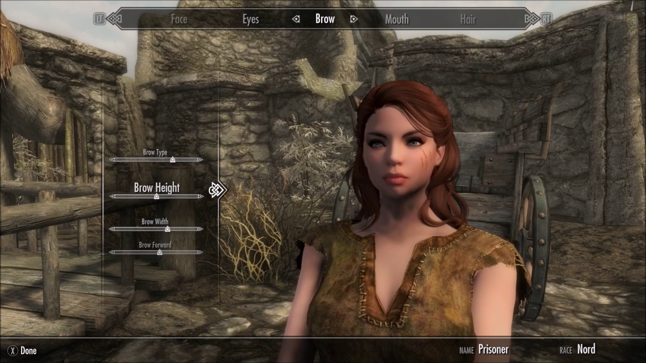 Skyrim Special Edition Female Character Creation 01 (Xbox One Mods)