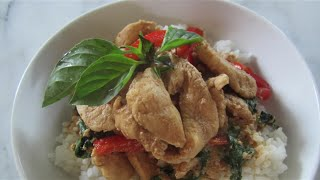 How To Make Thai Basil & Chicken Stir Fry | Asian Food | House Of X Tia