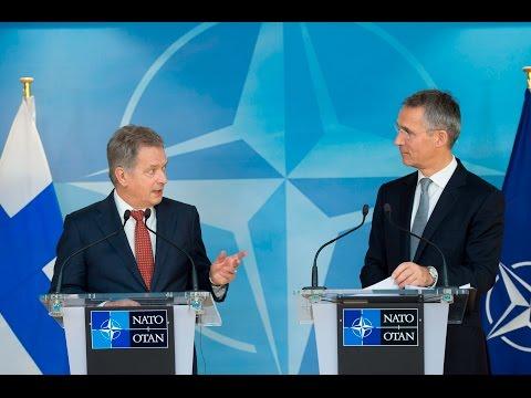 NATO Secretary General with the President of Finland, 09 NOV 2016