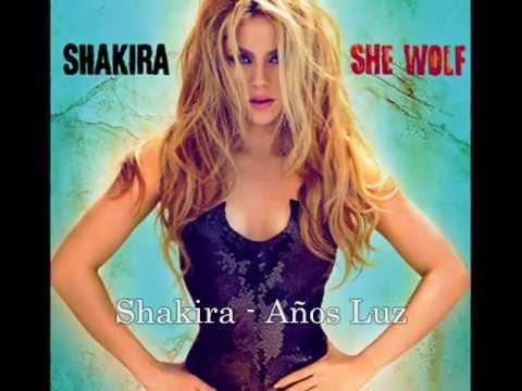 Años Luz - Shakira (Lyrics)