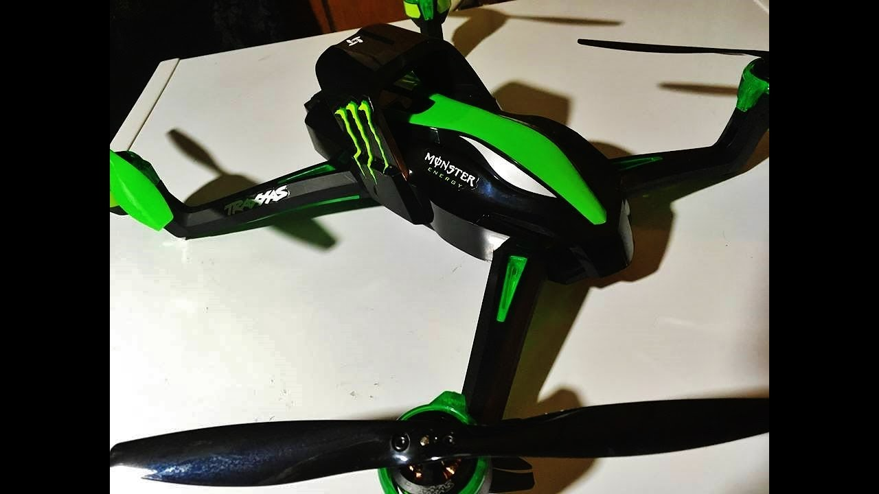 Traxxas Monster Energy Aton $60 00 GPS Quadcopter limited edition quick  unboxing