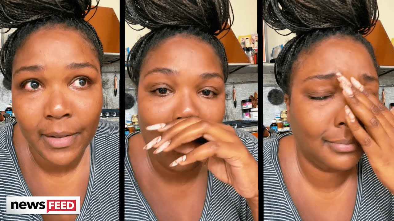 Lizzo CRIES Over Feeling Like A 'BURDEN' On Everyone!