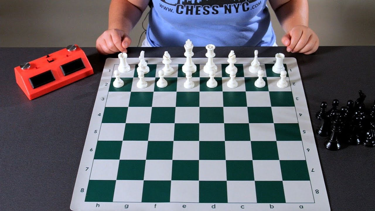 Chess Board Setup Diagram 3 Way Switch Power At How To Set Up The Youtube