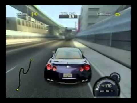 wii need for speed prostreet nissan gt r stock suspension. Black Bedroom Furniture Sets. Home Design Ideas