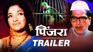 Pinjara Theatrical Trailer (HD) | Shriram Lagoo, Sandhya, Nilu Phule | Classic Marathi Movie Revived