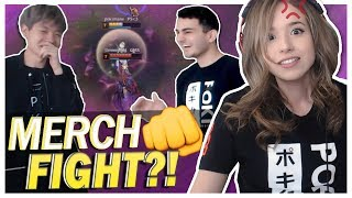 POKI MERCH HAS POWERS?! FT. OFFLINE TV | Diamond Lux Mid!