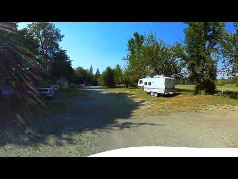 River Meadows Park Campground Arlington Washington - 360 Video Virtual Tour 4K