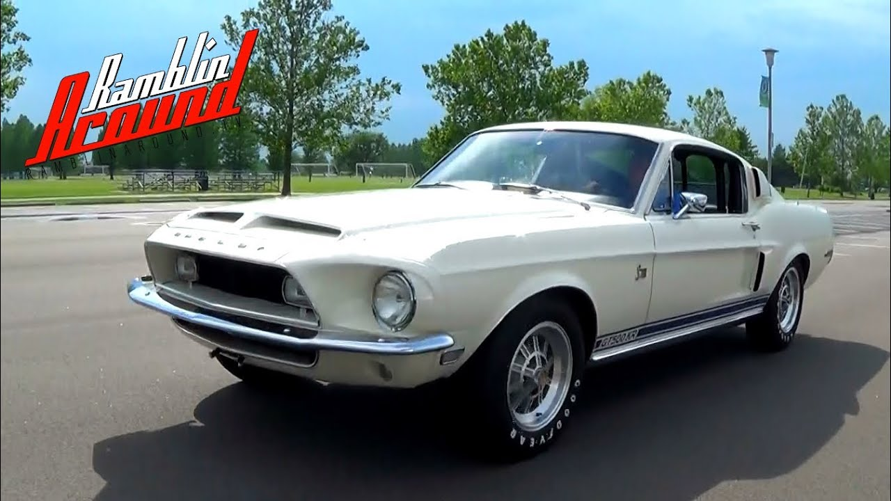 Test driving 1968 shelby gt500kr 428 cobra jet v8 four speed