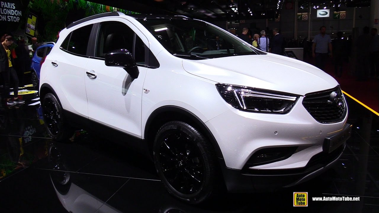 2017 opel mokka x color edition 1 6 diesel exterior interior walkaround 2016 paris motor. Black Bedroom Furniture Sets. Home Design Ideas